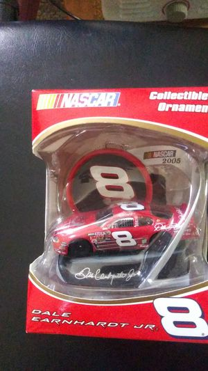 Dale Earnhardt Jr. COLLECTIBLE Christmas ornaments for Sale in Indianapolis, IN