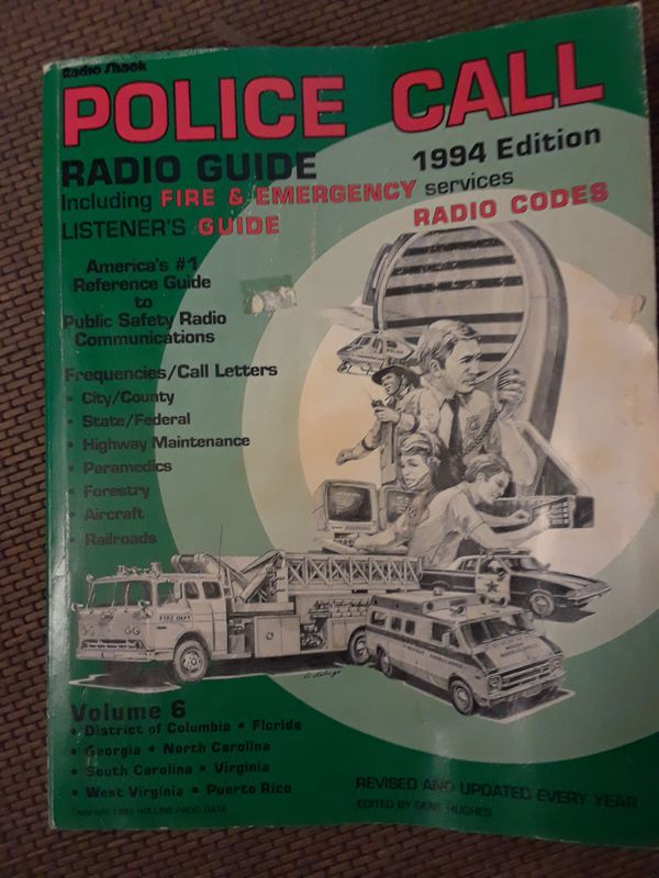 Police Call Radio Guide for Sale in Ladson, SC - OfferUp