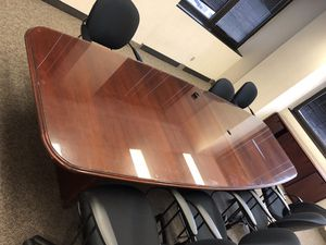 10 foot executive table for Sale in Salt Lake City, UT