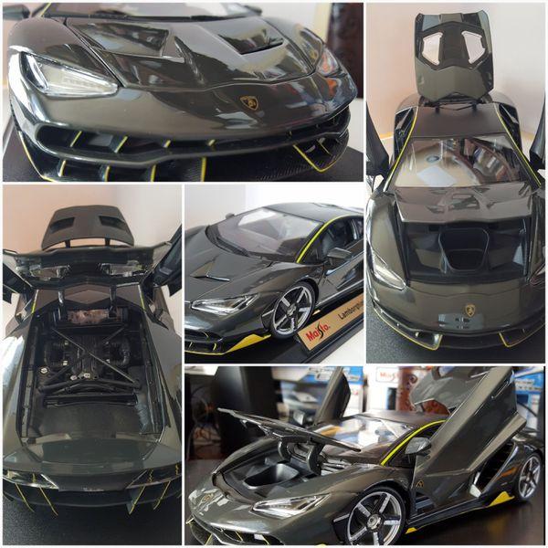 Lamborghini Centenario Grey 1 18 Diecast Model Car By Maisto For
