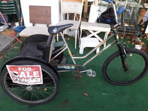 Trybike use this to drop my boy to school now selling it for Sale in Milpitas, CA