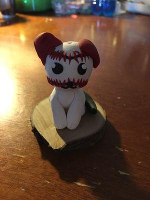 Photo EXAMPLE: Custom Made Baseball Dog see notes