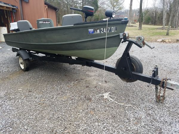 14 Foot Cherokee Fishing Boat 25hp Evinrude for Sale in Hermitage, TN -  OfferUp