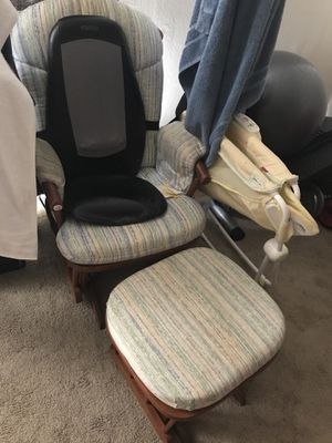Rocking chair with foot rest for Sale in Silver Spring, MD