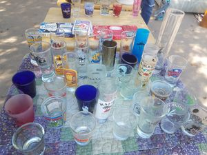 Ashtray and shot glass collection for Sale in Tempe, AZ