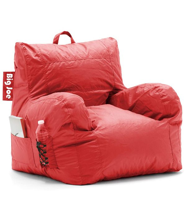 Big Joe Dorm Bean Bag Chair In Smartmax Fabric And Pockets For Sale