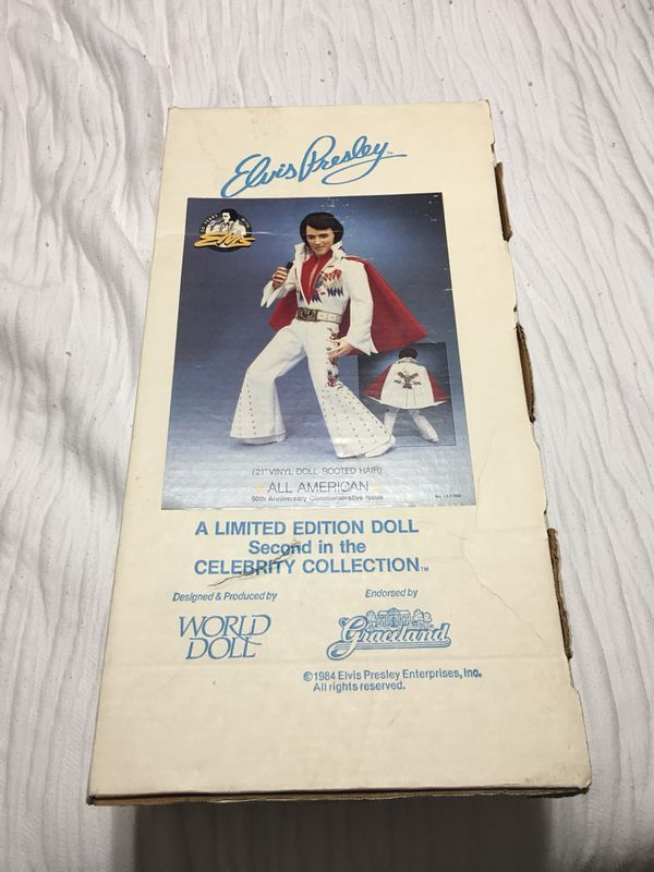 Elvis Collectible Doll (circa 1981) for Sale in Baton Rouge b87353d192ae