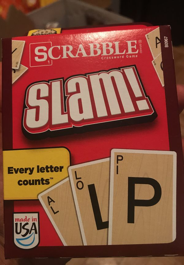 Scrabble Slam Card Game For Sale In Coral Springs Fl Offerup