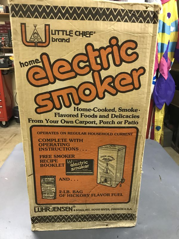 Little Chief Smoker For Sale In Yakima Wa Offerup