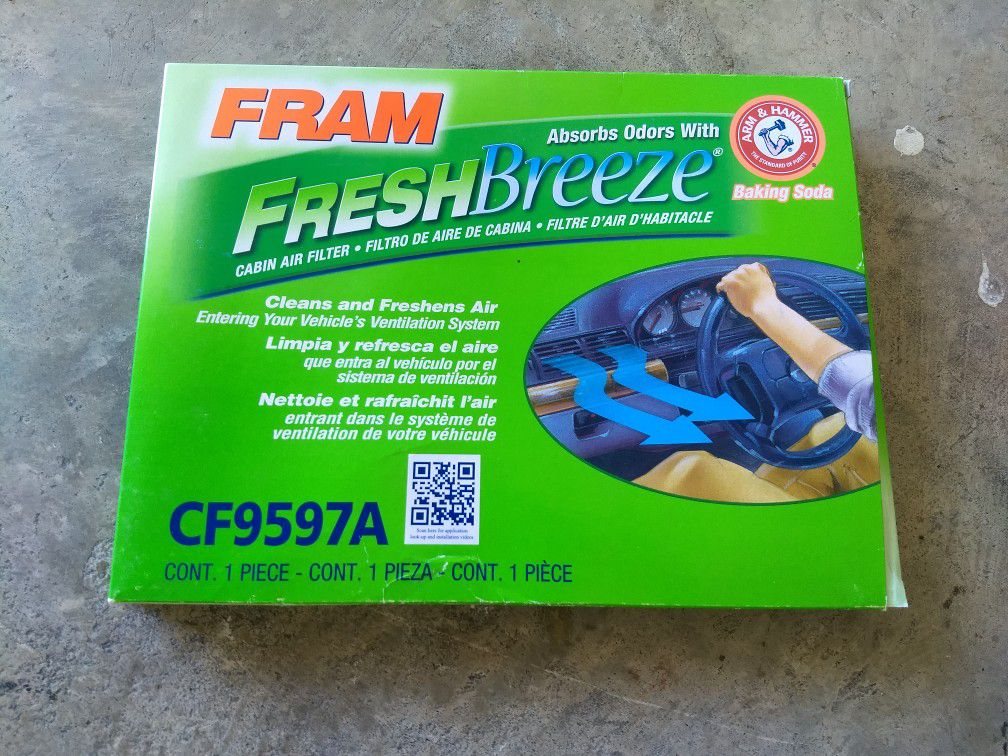 CF9597A FRAM Fresh Breeze® Cabin Air Filter CF9597A   FRAM