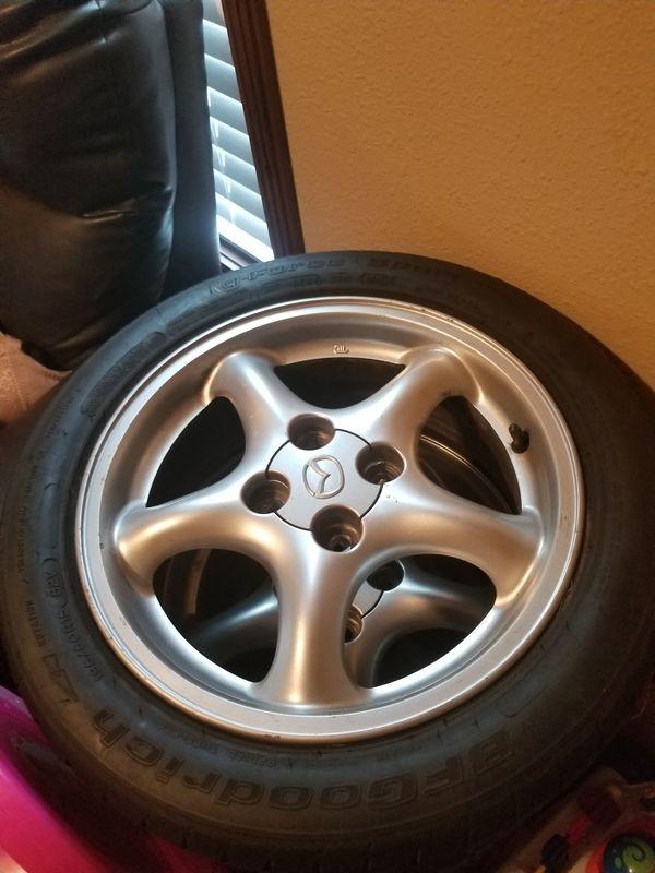 Mazda miata wheels for Sale in Austin, TX - OfferUp