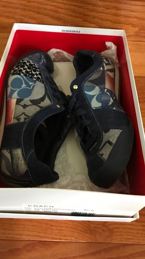 Coach Patchwork sneakers sz 7.5 for Sale in Bristow, VA