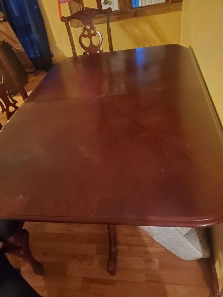 Meza con sus 6 sillas