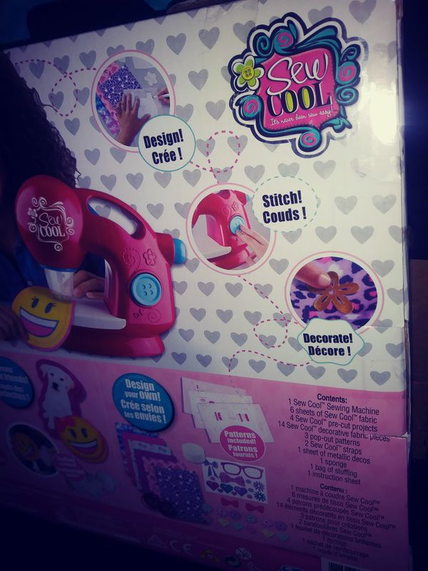New sew cool kids girls toy sewing machine for Sale in Deerfield ...