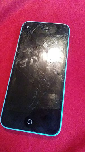ACTIVATION LOCKED iPhone 5c SCREEN CRACKED for Sale in Washington, DC