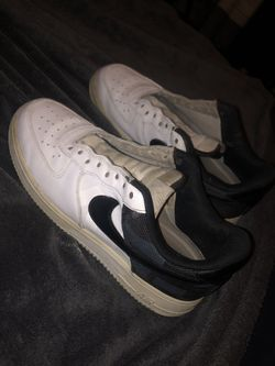 black and white air forces Thumbnail