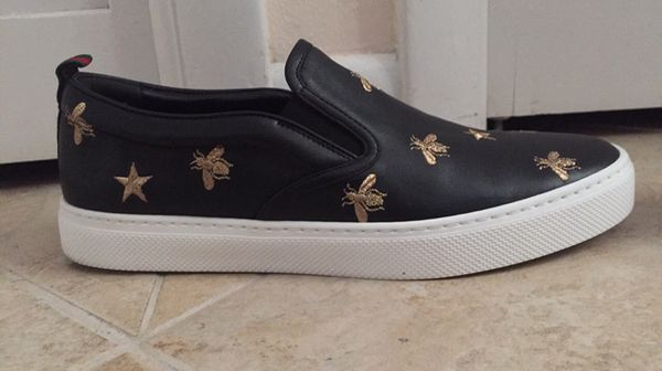 289b9798d Gucci Men's Dublin Star Bee Slip-On Sneakers for Sale in Margate, FL ...