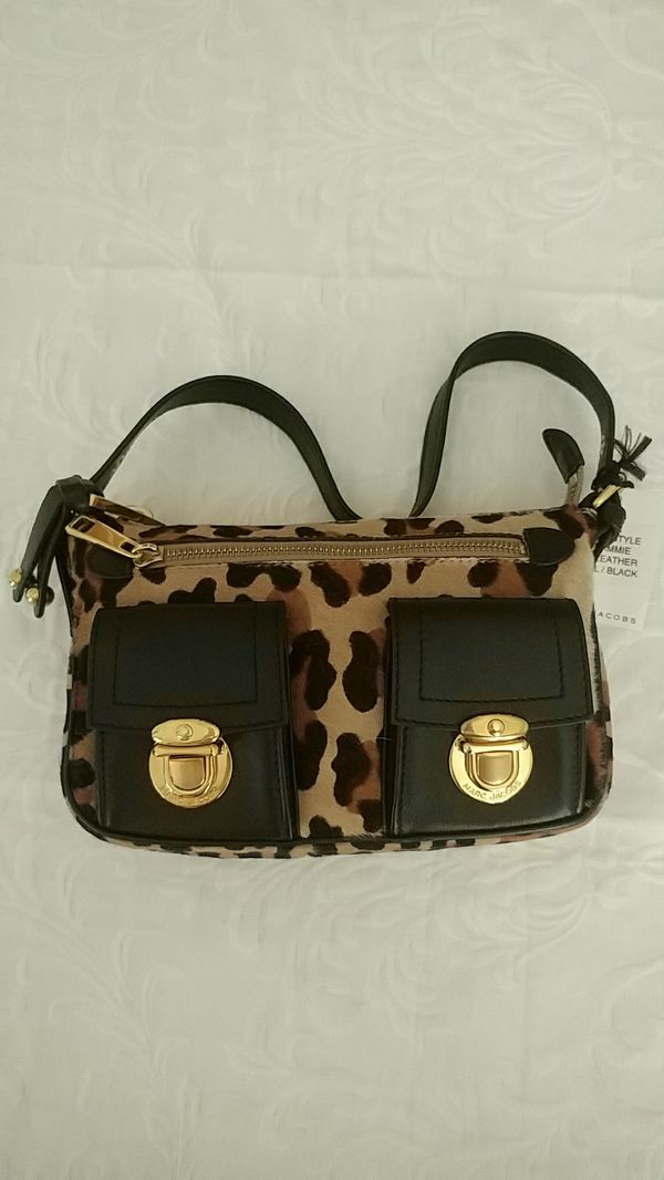 23bc0877403a NEW with tags! Marc Jacobs Leopard Calf Leather Hand Bag for Sale in ...