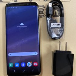 Samsung galaxy s8 unlocked,sold with store warranty  Thumbnail