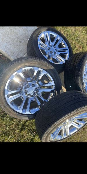 Photo Chevy Silverado, Tahoe, Suburban, Avalanche, GMC Sierra, Yukon, Cadillac Escalade Wheels/Rims & Tires