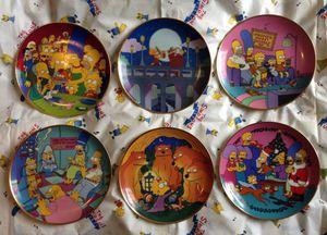 Photo Franklin Mint The Simpson's Collectors Complete Set