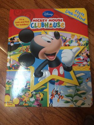 Mickey Mouse look and find book for Sale in Potomac, MD