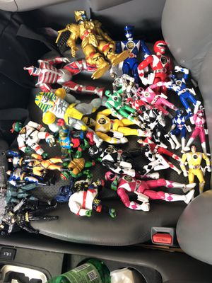 Power ranger lot for sale, no low ballers for Sale in Silver Spring, MD