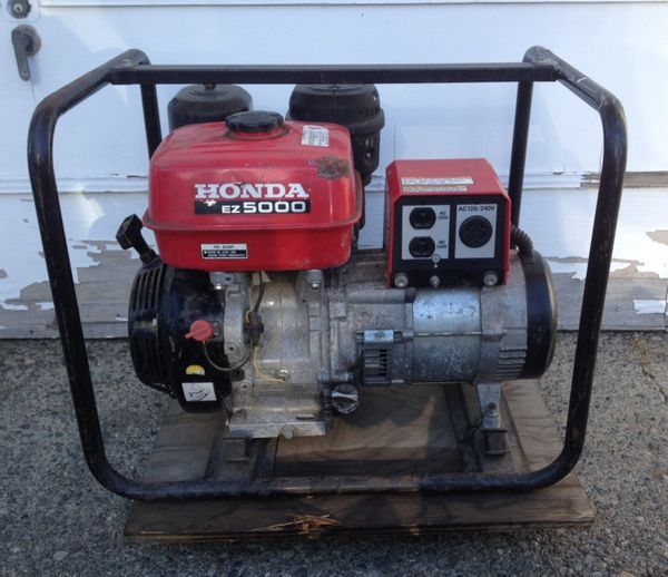 Honda Ez5000 5000 Watt Generator For Sale In Renton Wa Offerup