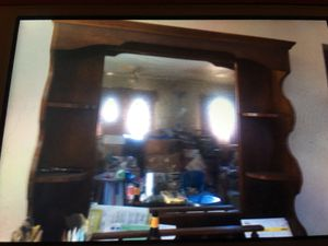 Large bar or sideboard mirror for Sale in Gaithersburg, MD
