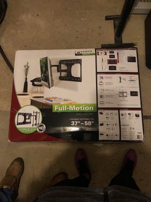 Full-motion Wall mount - $50 ($350 brand new) for Sale in Boston, MA