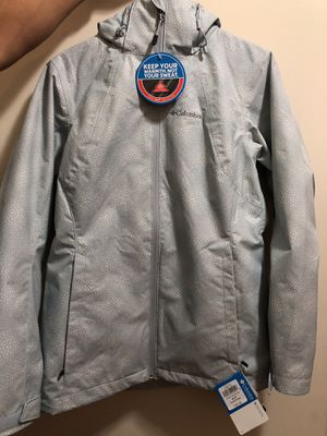 COLUMBIA! Light blue jacket for Sale in Aspen Hill, MD