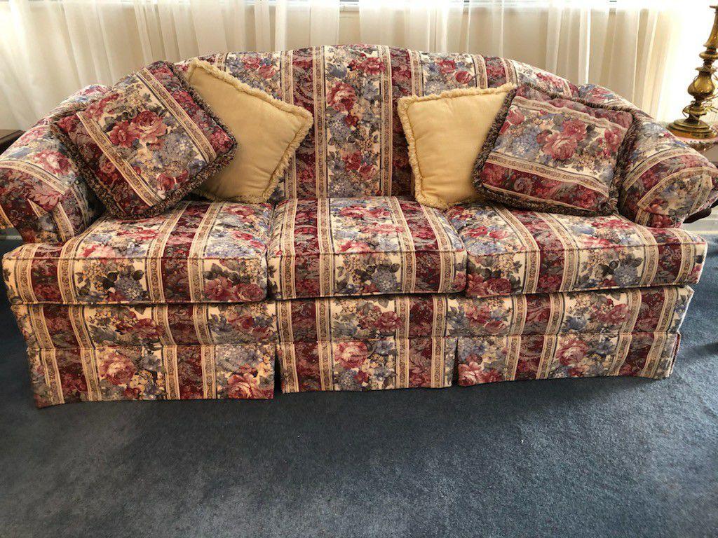 Sofa And Loveseat Set
