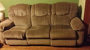 Brown like-new couch for Sale in Brookeville, MD