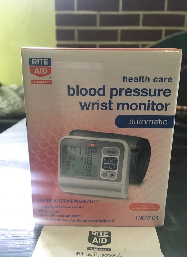 Blood pressure wrist monitor brand new never {url removed} box with receipt  for Sale in Buffalo, NY - OfferUp