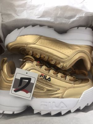 Brand New Gold FILA for Sale in Springfield, VA