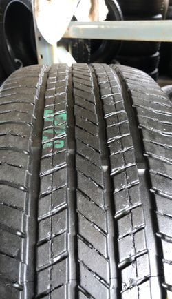 Set of semi new tires 215/60R18 Yokohama for $230 the price includes installation and balance, ask for any size you need Thumbnail