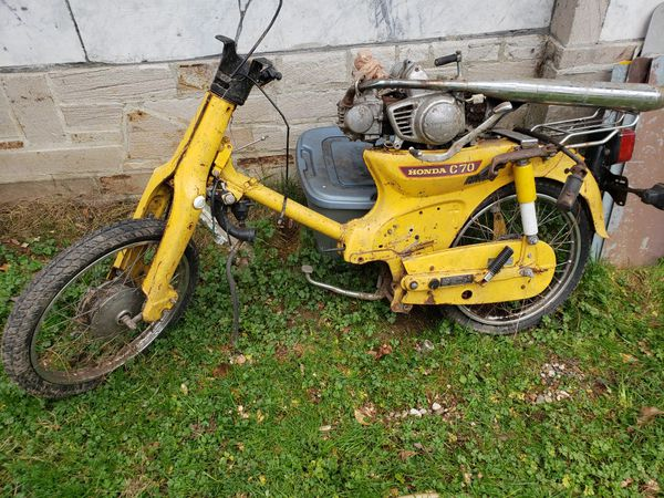 1980 C70 Honda parts project motorcycle for Sale in ...