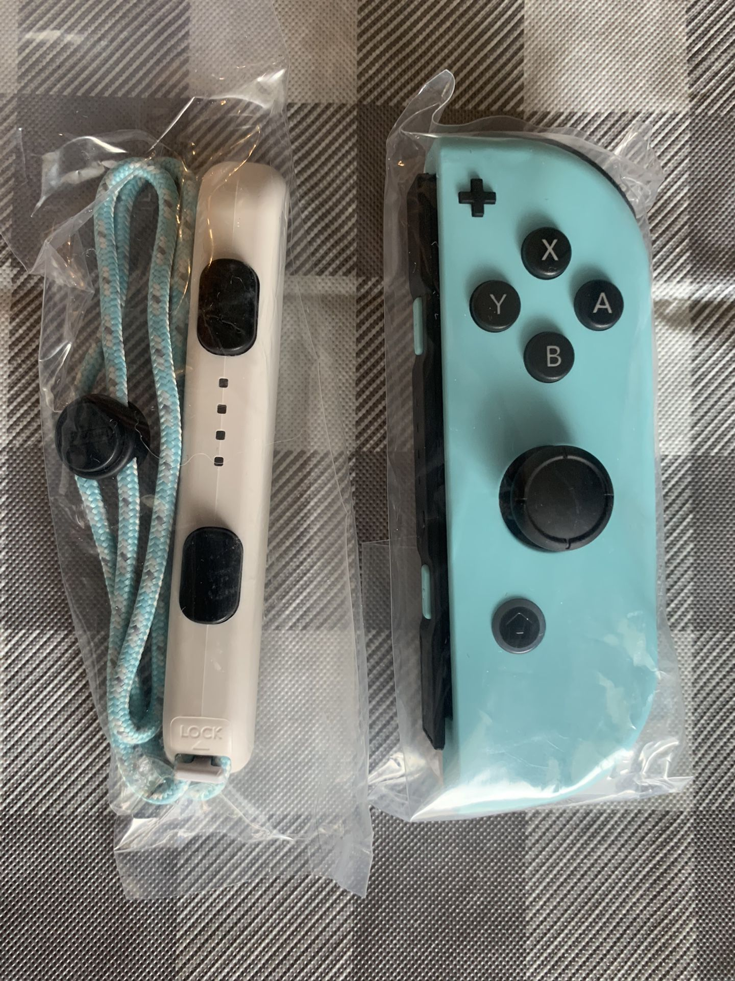 New And Unsed authentic  Animal Crossing Edition Nintendo Switch Joycons Joy Con Left + Right Controllers