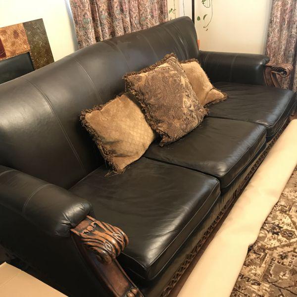 Ashley Casa Mollino Leather Couch For In Mesa Az Offerup - Casa Mollino Sofa Table