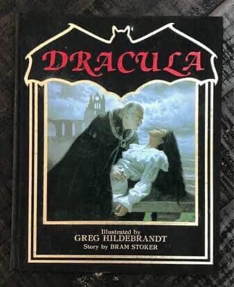 Bram Stoker Dracula Book Illustrated by Hildebrandt just $3