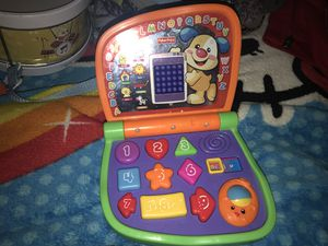 Fisher price baby lap top toy for Sale in Virginia Beach, VA