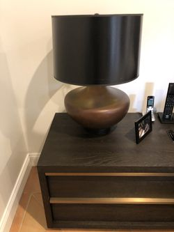 Restoration Hardware bedside lamp night light Thumbnail