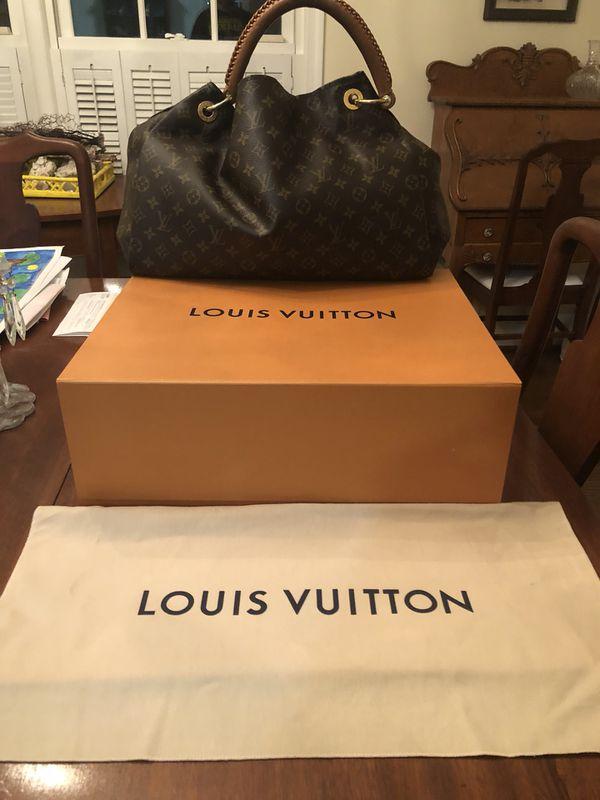 dd0abed2afa9 Authentic Louis Vuitton Artsy MM Monogram Shoulder Tote Bag M40249 ...