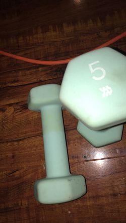 5lb weights Thumbnail