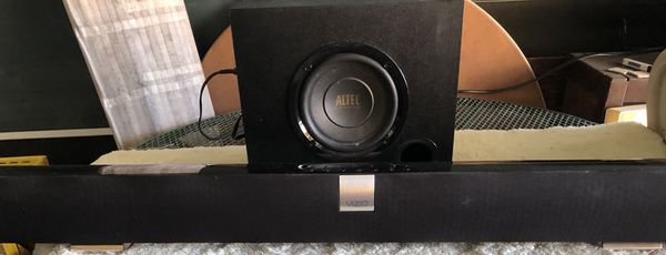 "Vizio 40"" Sound Bar model VSB 200 with subwoofer & remote"