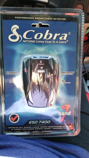 Photo Cobra Esd 7400 laser / radar detector