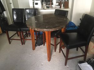Granite table set for Sale in Washington, MD