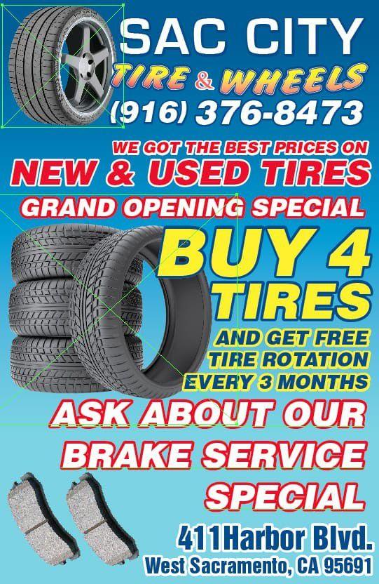 265 75 16 Set of 4 Firestone tires $120 installed