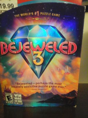 THE WORLD'S #1 PUZZLE GAME!!! BEJEWELD 3 for Sale in Pasco, WA