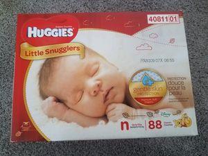 Huggies newborn 88 ct for Sale in Salt Lake City, UT